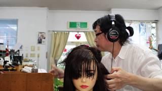 【ASMR】 Haircut Role Play【音フェチ】ヘアサロンロールプレイ✂