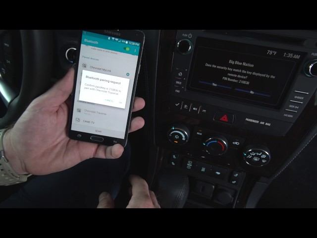 Chevrolet MyLink - How to Connect Android to Bluetooth (7-Inch Display)