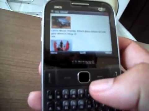Samsung Ch@t 527 Hands-on