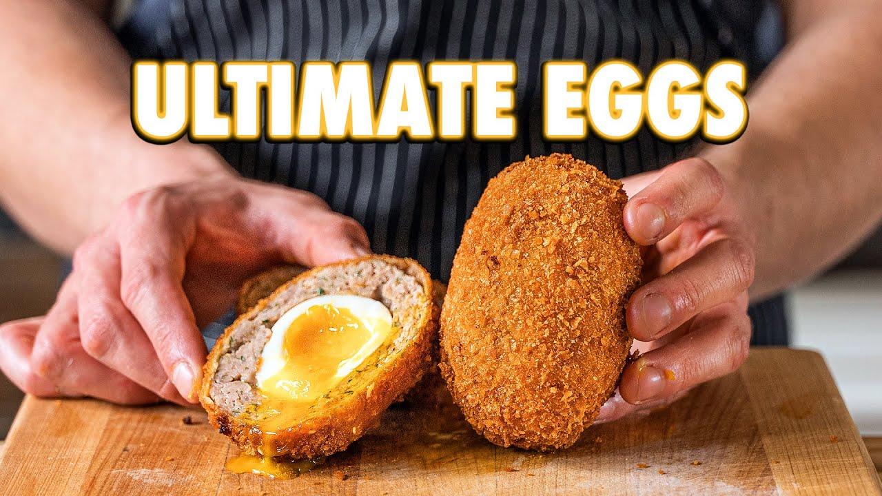 The Perfect Egg Recipe (Scotch Eggs 3 Ways)