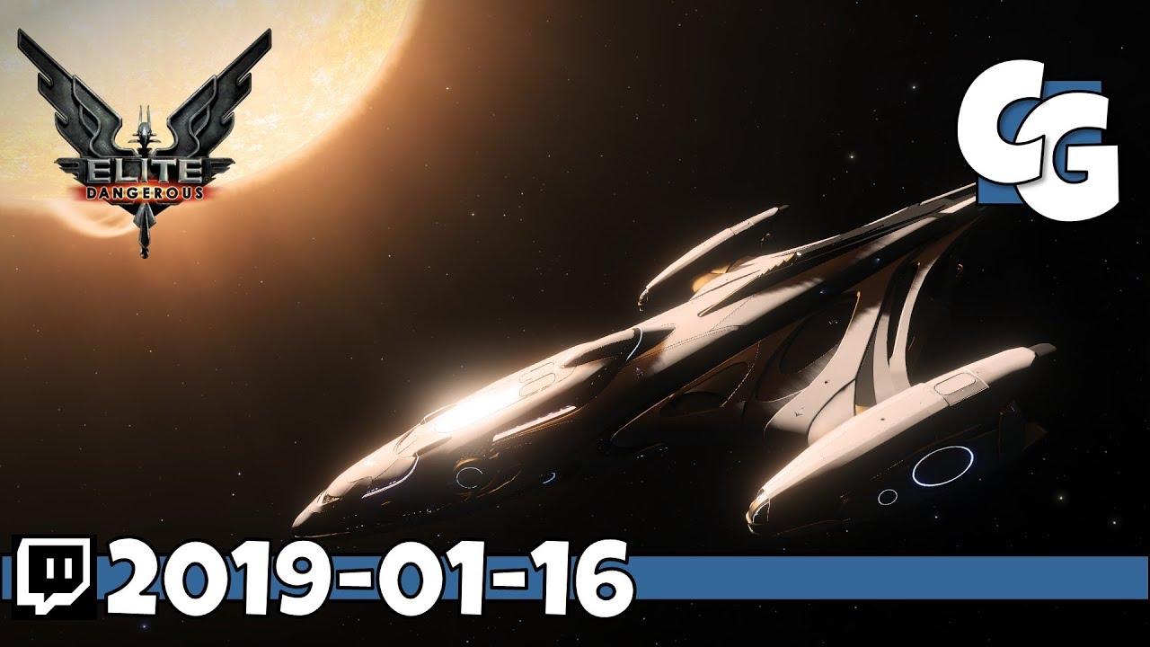 Elite Dangerous - Beyond Update - Space Trucking with Jack - VOD -  2019-01-16