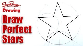 How to Draw Perfect Stars(Perfect Stars are easy to draw when you know how. Let award winning illustrator, Shoo Rayner, show you how five sided stars are constructed geometrically ..., 2011-10-02T10:25:37.000Z)