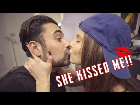 SHE KISSED ME!!! W Amanda Cerny