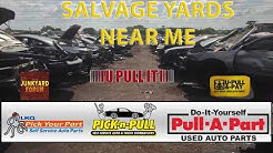 Salvage Yards Near Me