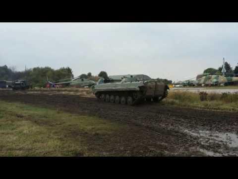Gefechtsmäßiges Fahren mit dem BMP 1