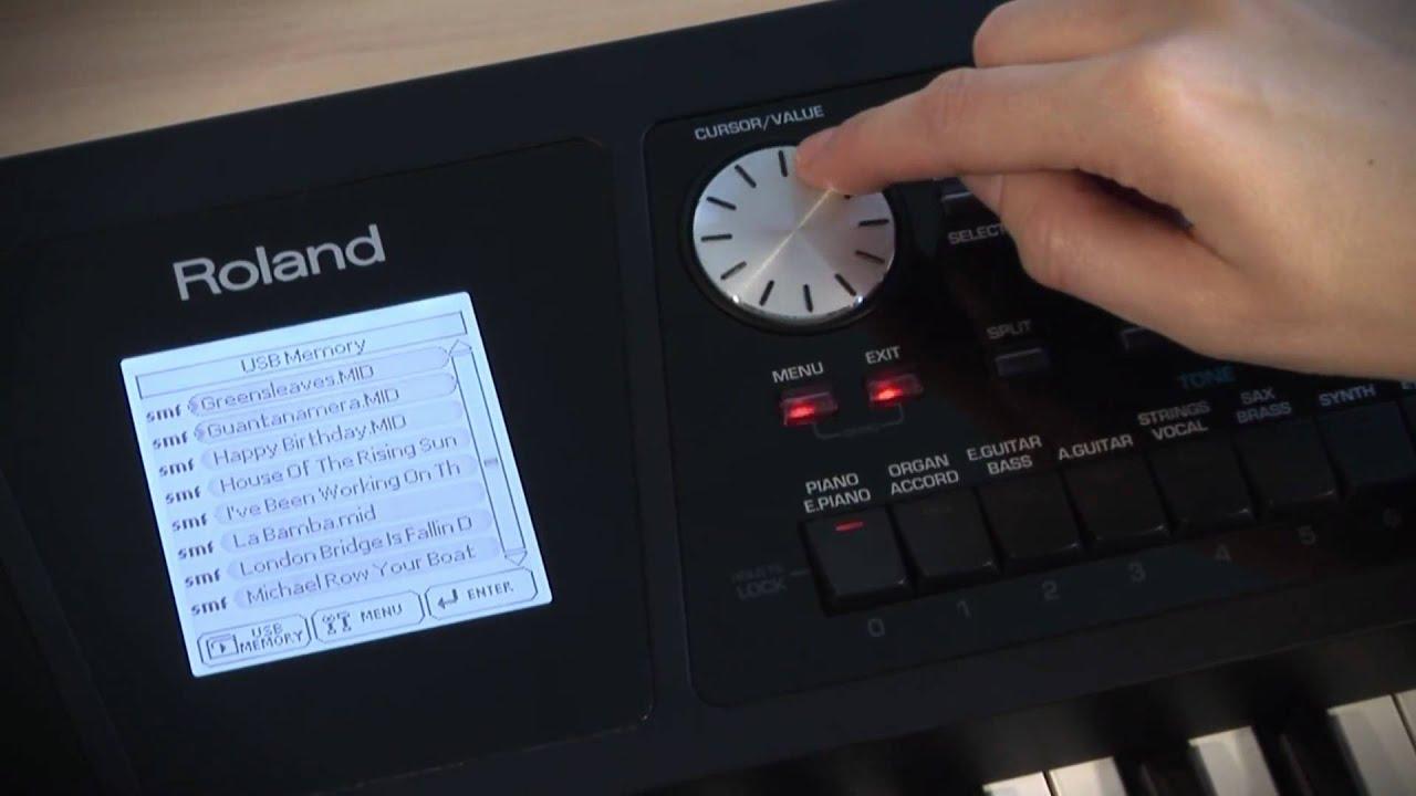 roland bk 5 backing keyboard
