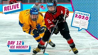 RELIVE - Ice Hockey - JAPAN vs SWEDEN - Women's Gold Medal Game - Day 12 | Lausanne 2020