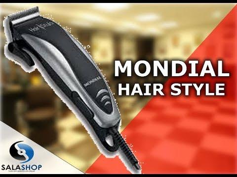 Unboxing Apresentacao Maquina De Cortar Cabelo Mondial Hair Stylo