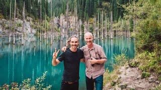 We found a petrified lake in Kazakhstan (untouched!)