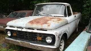 1961 Ford Uni-body Pickup Truck, For Sale, $1500, Call 1-864-348-6079
