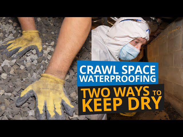 Crawl Space Waterproofing | Two Ways to Keep Dry