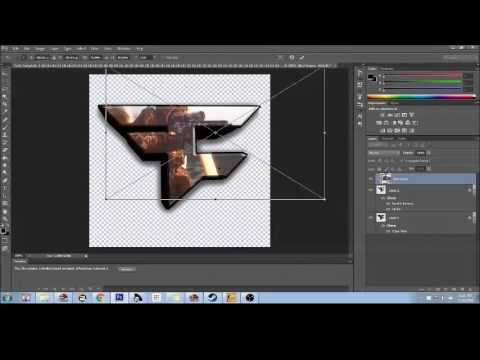 How to Make a Custom FaZe Logo (PhotoShop Cs6) With Downloadable ...
