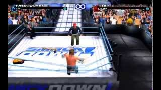 WWF Smackdown Just bring it - Fred Durst Vs Test