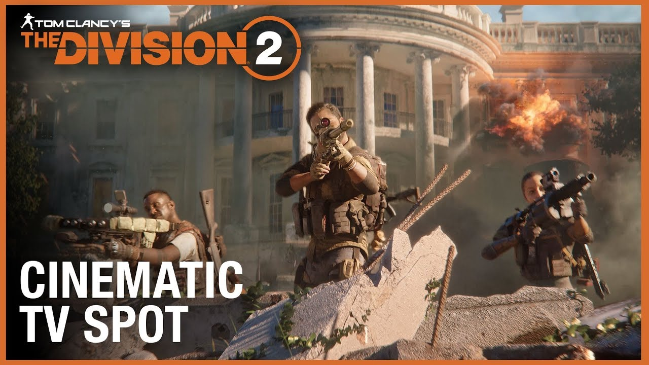 Tom Clancy's The Division 2: Official Cinematic TV Spot / The