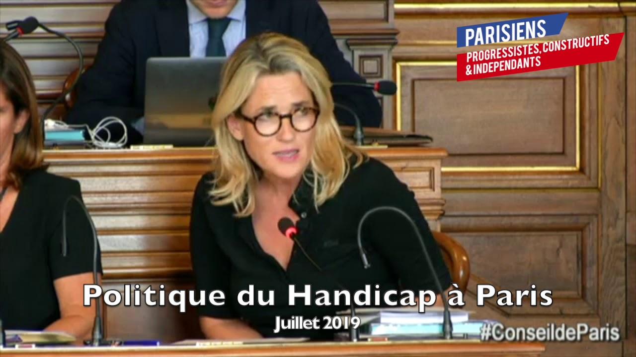 POLITIQUE DU HANDICAP À PARIS