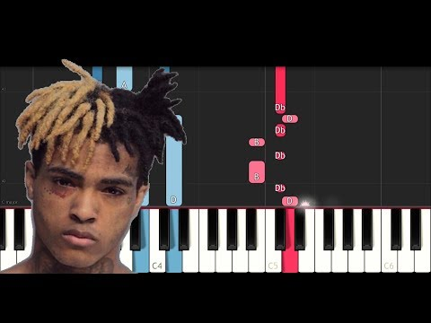 XXXTENTACION - Jocelyn Flores (Piano Tutorial)