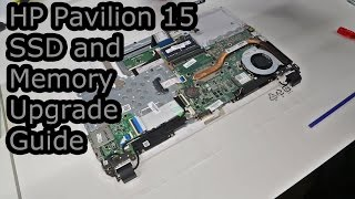HP Pavilion 15 SSD and Memory Upgrade Guide