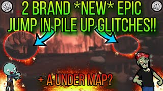 2 BRAND *NEW* EASY JUMP IN PILE UP GLITCHES ON THE FROZEN PATH!!(NO TELEPORT GRENADE)