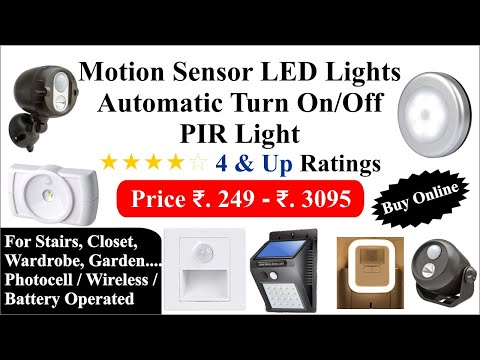 Motion sensor LED lights for Stairs, Closet, Wardrobe and Outdoor