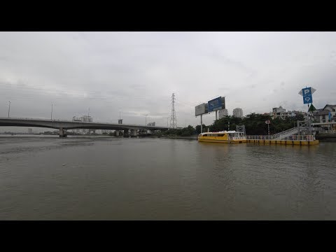 Saigon Water bus on Saigon River Driver record (2017)