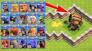 Which Troops Is Best? All Troops Vs Boom Beach Rocket Launcher On COC