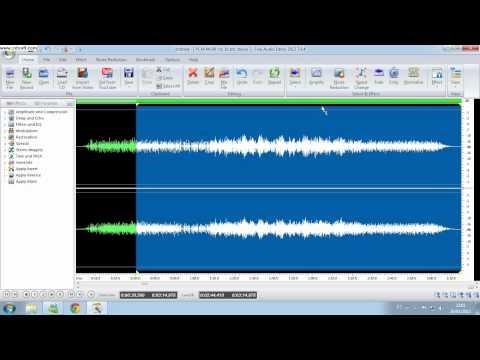 mixando música com o free audio editor.avi