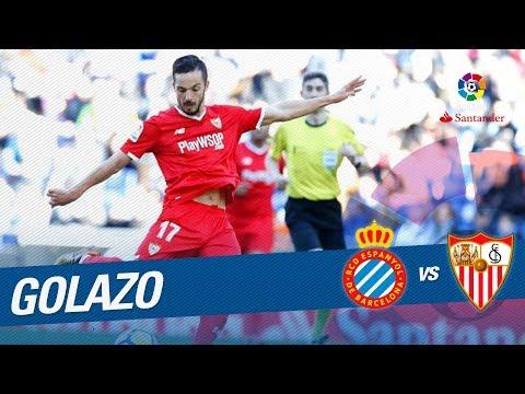 Golazo de Sarabia (0-2) RCD Espanyol vs Sevilla FC thumbnail