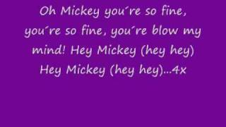 Hey Mickey lyrics