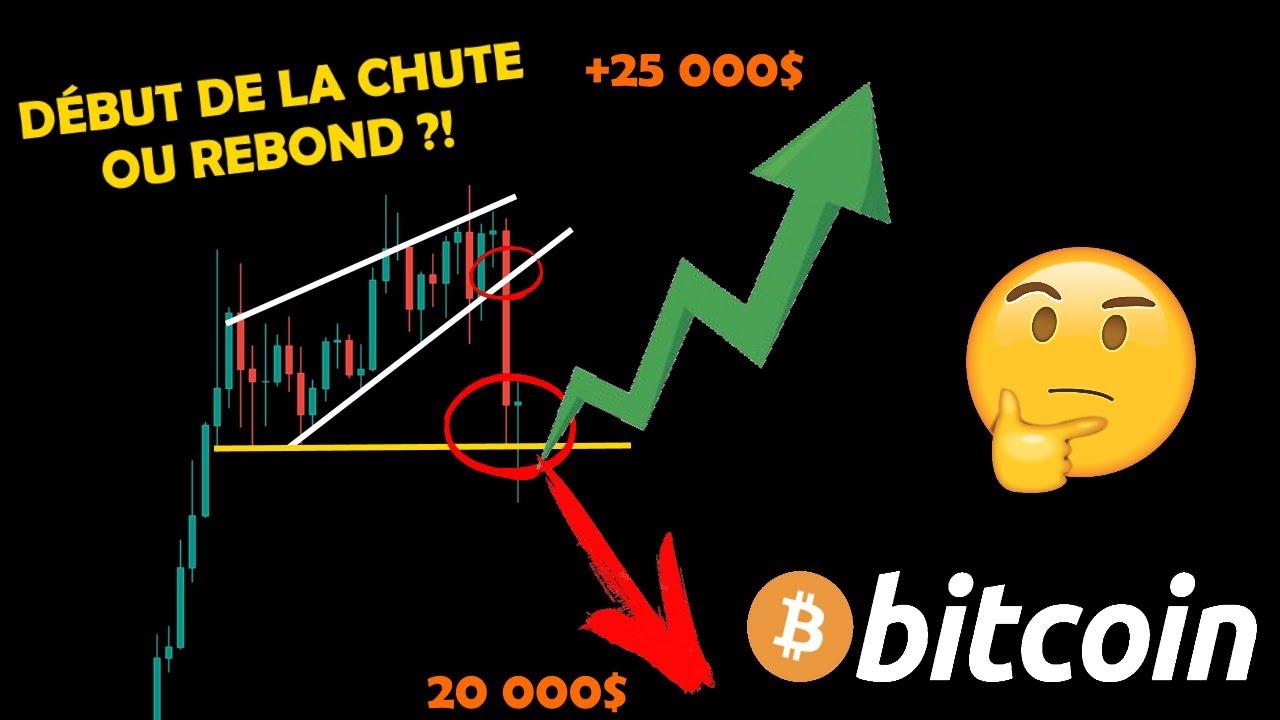 BITCOIN 🚨 CHUTE DE +5%... 😨 POUR MIEUX REBONDIR ENSUITE ?! 🤔bitcoin btc crypto monnaie analyse fr