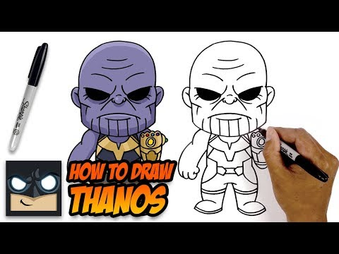 How to Draw Thanos | The Avengers | Step-by-Step Tutorial thumbnail