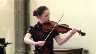 ABRSM Performance Diploma : Bach partita for solo violin no 2 in D minor, BWV 1004