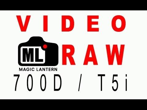 Video RAW Eos 700D / T5i. Configuración, edición y ejemplos. Doblejotafoto