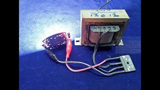 How to Make 12v 200 Amp Battery Charger With Transformer New Idea