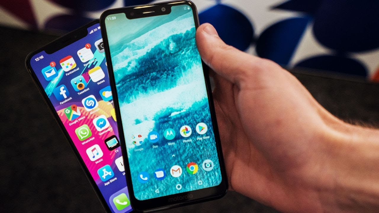Motorola One Hands On A Budget Iphone X Clone
