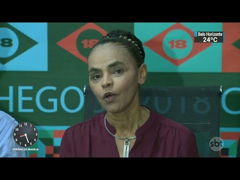Pré-candidatura de Marina Silva à presidência é lançada oficialmente | SBT Brasil (07/04/18)