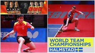 FAN Zhendong - FILUS Ruwen @ WTTTC Final Halmstad 06/05/2018 (private video HD)