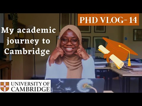 My academic journey to Cambridge | I gave a career talk to A level students | outreach | PhD vlog