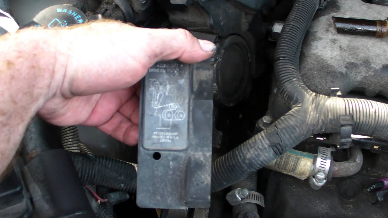 maxresdefault p0341 camshaft position sensor gm 3 4l pontiac montana youtube  at bakdesigns.co
