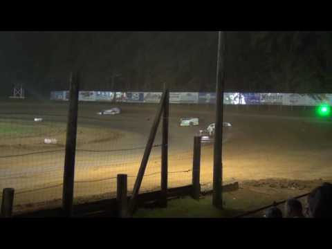 Roy Bruce Jr at Lincoln Park Speedway Feature 7.16.2016