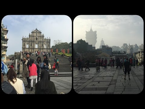 Ruins Of St. Paul's Macau 大三巴牌坊