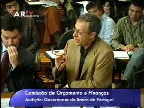 """Os """"marajás"""" da banca na audição a Victor Constâncio"""