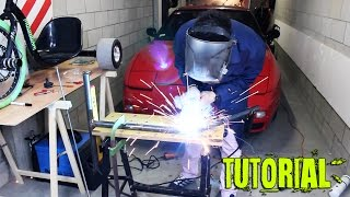 Come costruire un drift trike semplice ed economico - how to make a drift trike