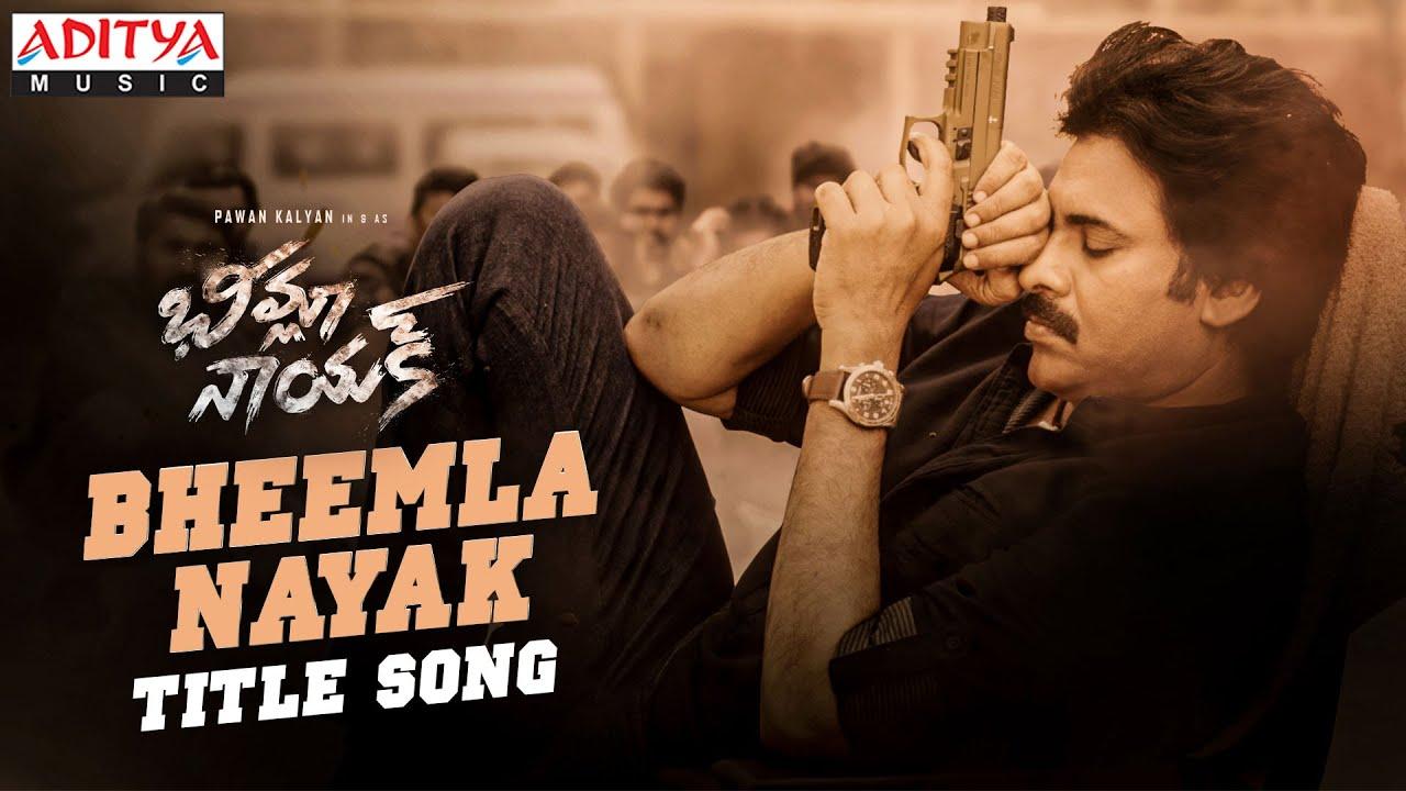 Download #BheemlaNayak Title Song | Pawan Kalyan | Rana Daggubati | Saagar K Chandra | Trivikram | Thaman S