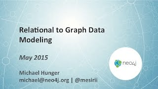 Relational to Graph: Data Modeling