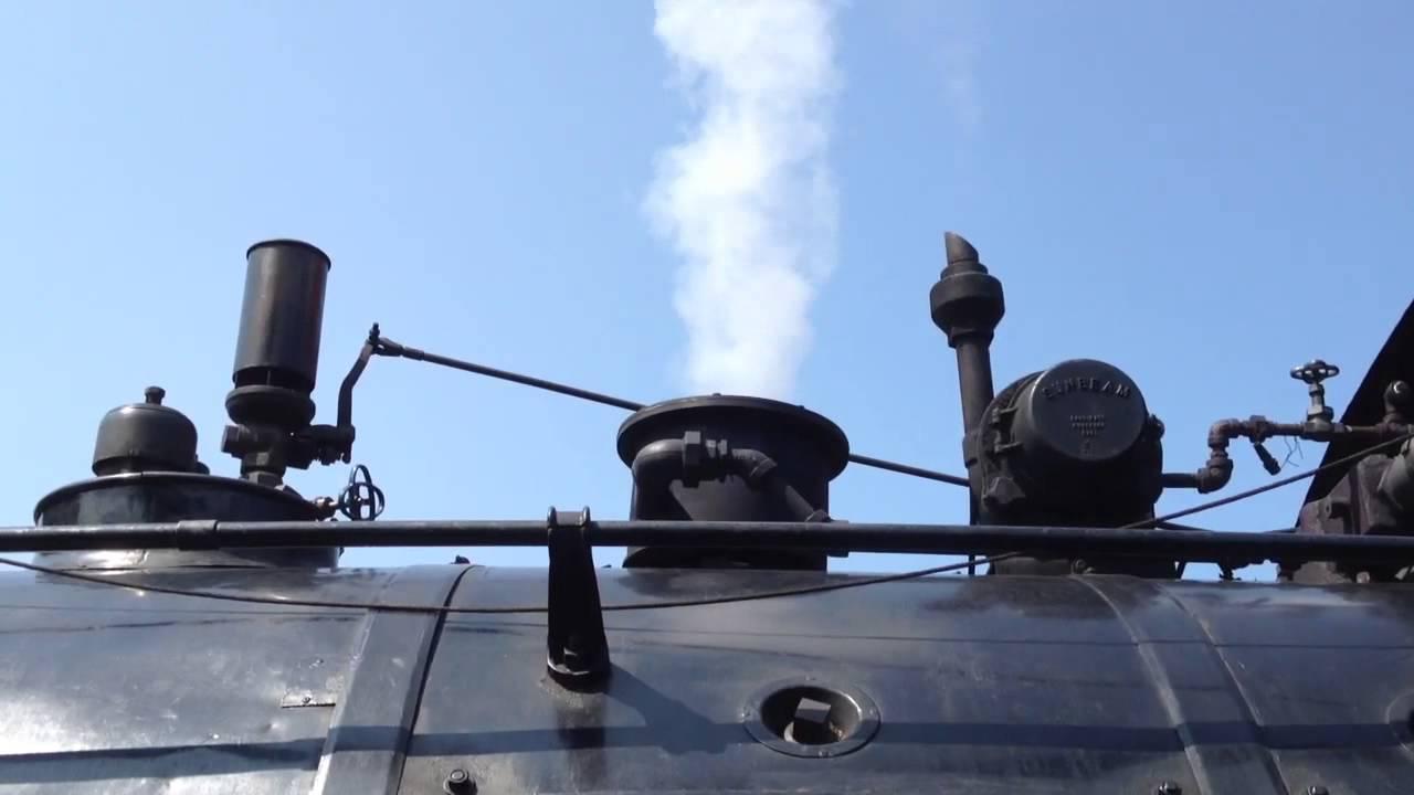 Steam Train Whistle - YouTube