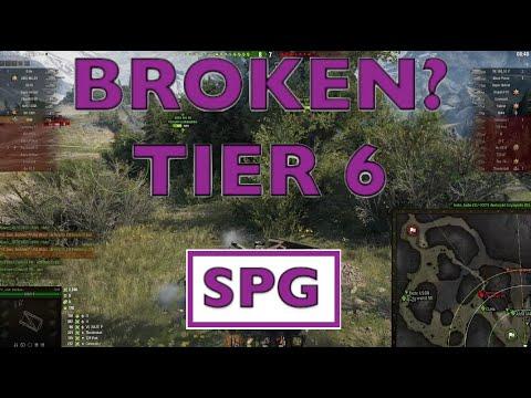 WOT - Most Broken OP Tier 6 SPG | World of Tanks thumbnail
