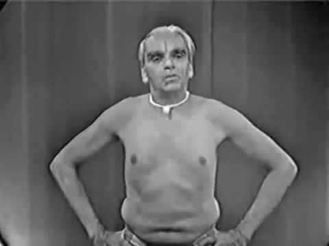 Yoga Demonstration, BKS Iyengar (1976)