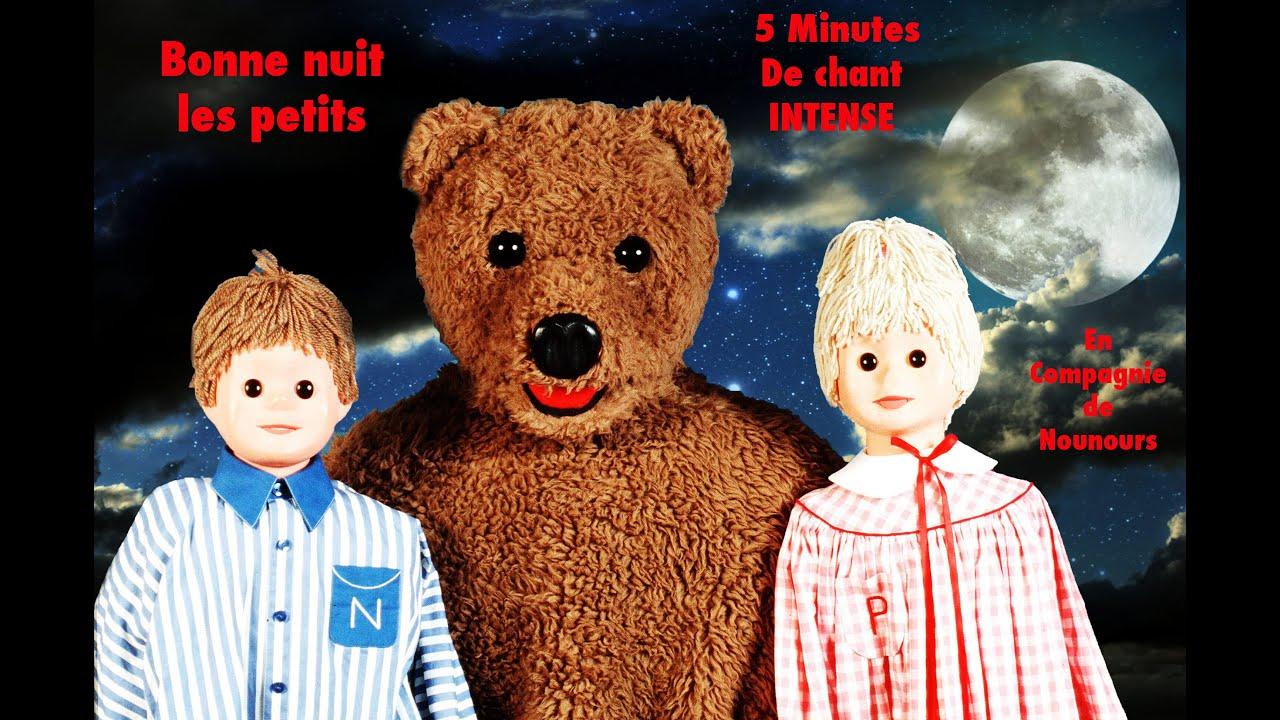 Bonne nuit les petits chanson gros nounours 5min version youtube - Personnage bonne nuit les petit ...
