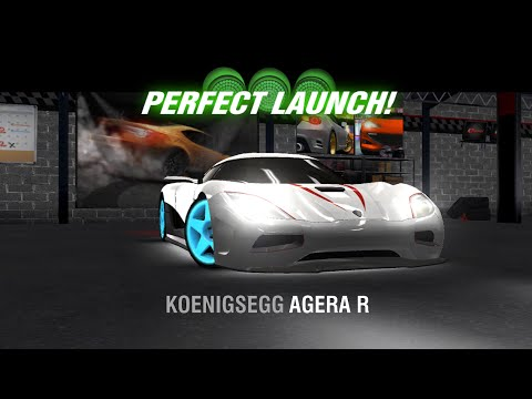 Racing Rivals Koenigsegg Agera R Perfect Launch Tutorial