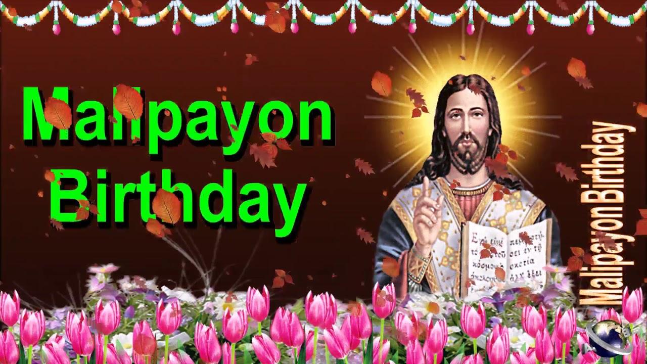 0 126 Cebuano Happy Birthday Greeting Wishes Includes Jesus Christ